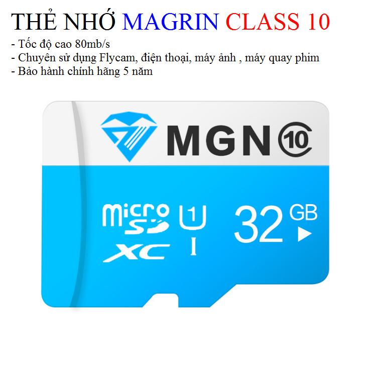 Thẻ nhớ Margin 16gb – class 10