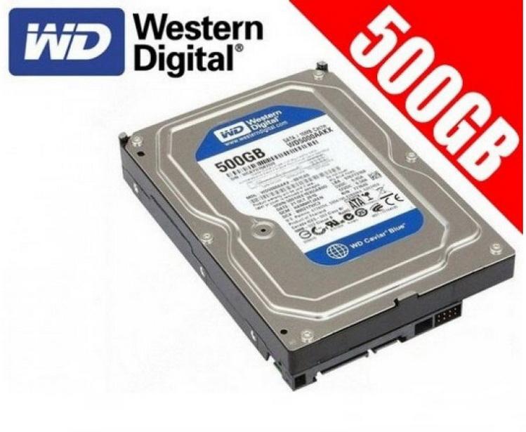 Ổ CỨNG WESTERN BLUE 500GB